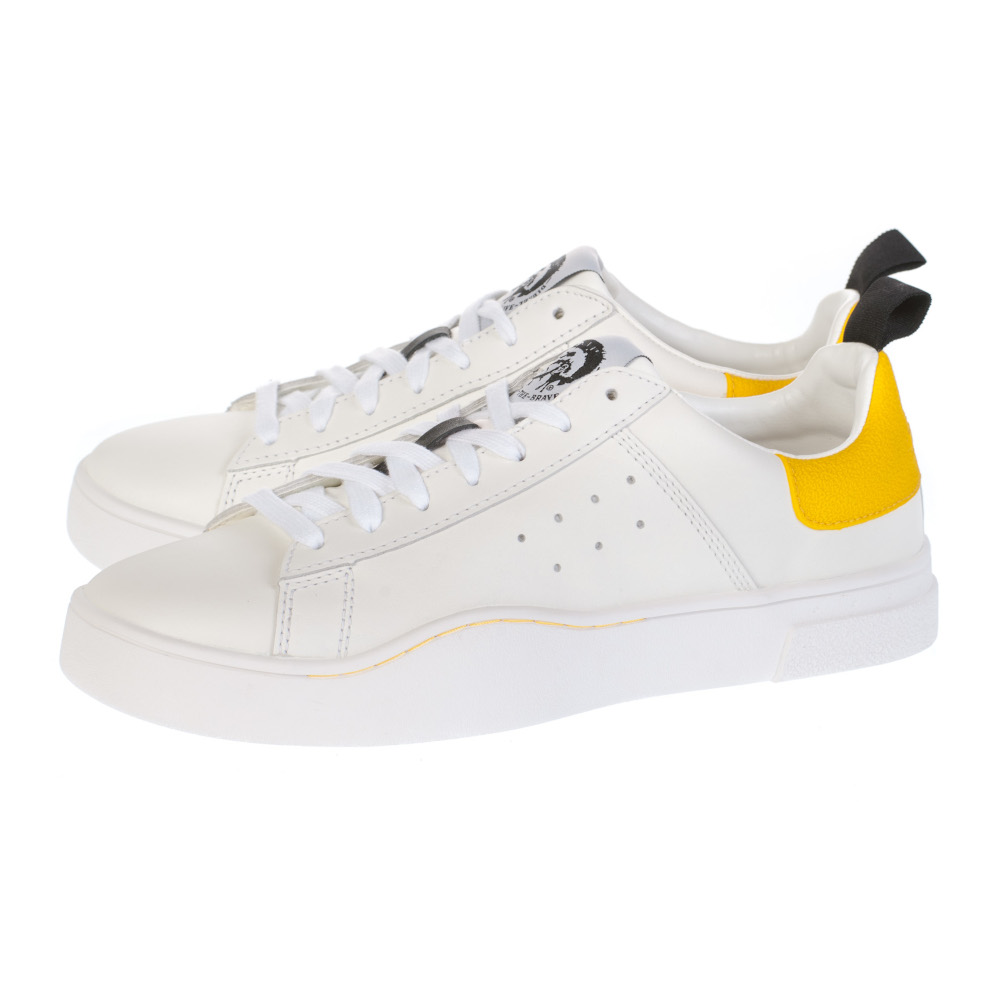 Casual παπούτσια Diesel λευκά S-CLEVER LOW Y01748 P1729 H6765