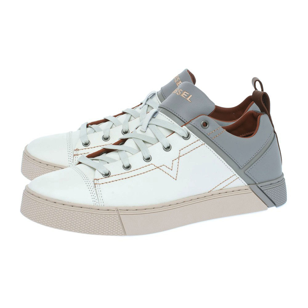Casual παπούτσια Diesel λευκά S-MIRAGE LOW Y01494 P1040 H6234