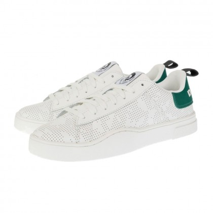 Casual sneakers Diesel λευκά S-CLEVER LOW Y02045 P3414 H8169