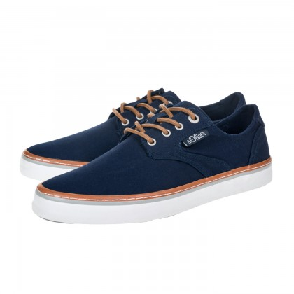 Casual sneakers S. Oliver μπλε 5-13620-26 805