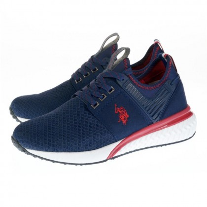 Sneakers U.S. Polo Assn. μπλε TEVEZ 2