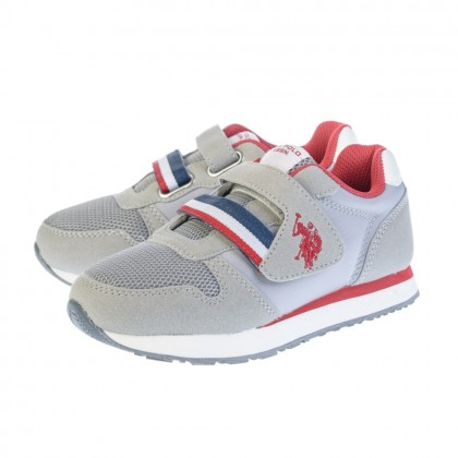 Παιδικά Sneakers U.S. Polo Assn. γκρι EVAN