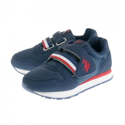 Παιδικά Sneakers U.S. Polo Assn. μπλε EVAN