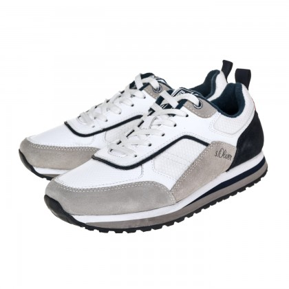 Sneakers S. Oliver λευκά 5-13624-26 110
