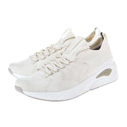 Sneakers S. Oliver λευκά 5-23617-26 100