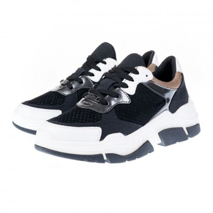 Sneakers S. Oliver μαύρα 5-23605-35 098