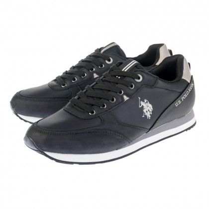 Sneakers U.S. Polo Assn. μαύρα BRYSON 1