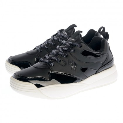Sneakers U.S. Polo Assn. μαύρα NYNA CLUB