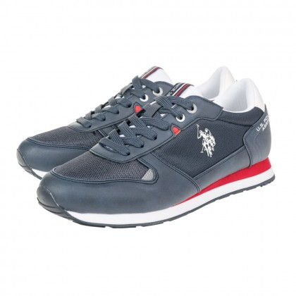 Sneakers U.S. Polo Assn. μπλε WILY