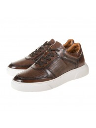 Sneakers S. Oliver καφέ 5-13612-26 300