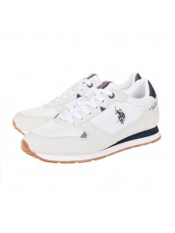 Sneakers U.S. Polo Assn. λευκά WILY