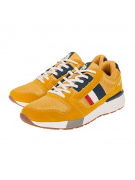 Sneakers U.S. Polo Assn. κίτρινα CLEM