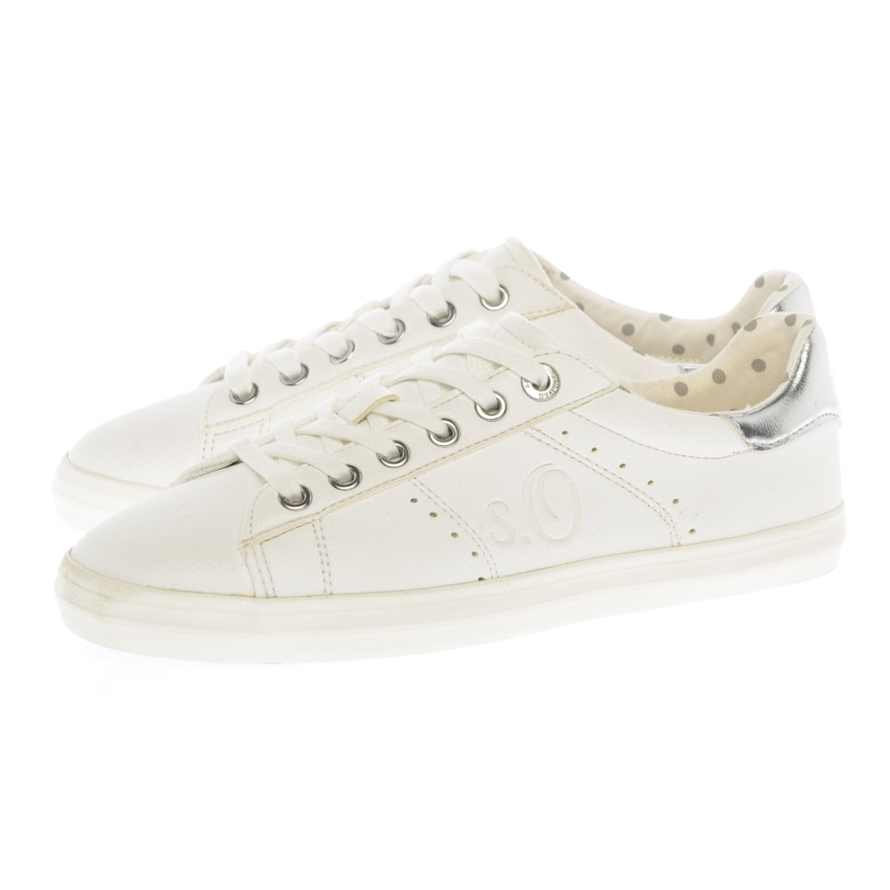169dae177f Sneakers S. Oliver λευκά 23638-22 100